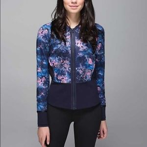 LULULEMON FLORAL IF YOURE LUCKY JACKET